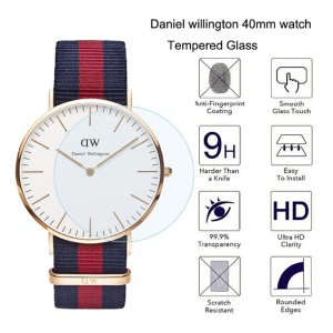 9H 2.5D Tempered Glass Screen Protection Film for Daniel Wellington Watch (DW 40mm)