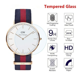 Tempered Glass Screen Protector Arc Edge for Daniel Wellington Watch (DW 34mm)