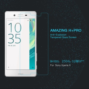 NILLKIN Amazing H+PRO for Sony Xperia X Tempered Glass Screen Protector Nanometer Anti-Explosion