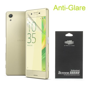 HD Clear LCD Screen Protector Film for Sony Xperia X (With Black Package)