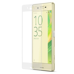 Complete Covering for Sony Xperia X Tempered Glass Screen Guard Film Anti-explosion - Transparent