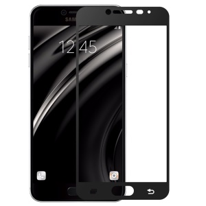 BENKS Magic OKR+PRO for Samsung Galaxy C5 Full Size Tempered Glass Screen Protector Film 0.3mm - Black