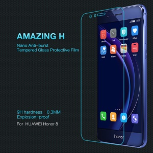NILLKIN Amazing H Tempered Glass Screen Protector Anti-explosion for Huawei Honor 8
