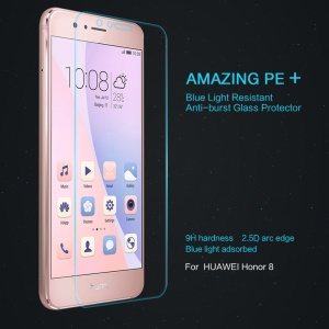 NILLKIN Amazing PE+ for Huawei Honor 8 Anti-blue-ray Tempered Glass Screen Protector Film