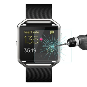 HAT PRINCE 0.2mm 9H Tempered Glass Screen Film for Fitbit Blaze Smart Fitness Watch