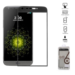 0.2mm Tempered Glass Screen Guard Full Coverage for LG G5/G5 SE - Black