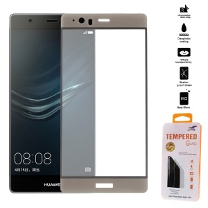 Tempered Glass Screen Protector Full Coverage for Huawei P9 Plus - Gold