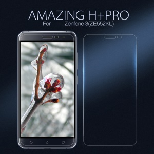 NILLKIN Amazing H+PRO for Asus Zenfone 3 ZE552KL Tempered Glass Screen Protector Nanometer Anti-Explosion