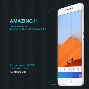NILLKIN Amazing H Tempered Glass Screen Protector for Meizu MX6 Anti-explosion