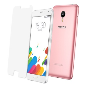 0.3mm Tempered Glass Screen Protector Guard Film for Meizu m1 metal Arc Edge