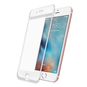 DEVIA for iPhone 6s Plus/6 Plus 0.15mm Ultra-thin 3D Full Covering Tempered Glass Film - White