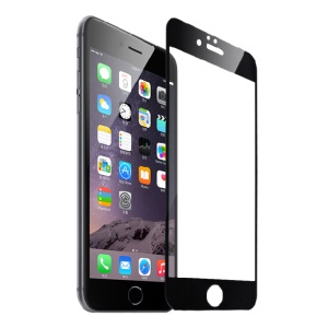 FSHANG Tempered Glass Screen Protector for iPhone 6s Plus / 6 Plus 0.2mm Full Coverage - Black