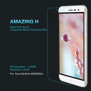 NILLKIN Amazing H Tempered Glass Screen Guard for Asus Zenfone 3 ZE520KL (Anti-explosion)