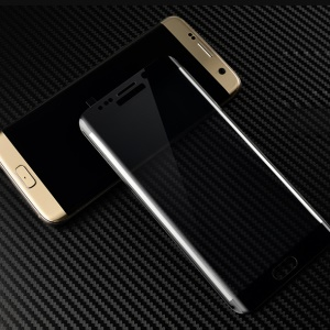 MOFI 3D Curved Full Size Tempered Glass Protective Film for Samsung Galaxy S6 edge G925 - Black