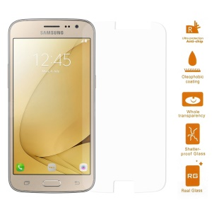 0.3mm Tempered Glass Screen Protector Film for Samsung Galaxy J2 (2016) Arc Edge