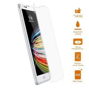 0.3mm Tempered Glass Screen Protector Film for LG X mach Arc Edge