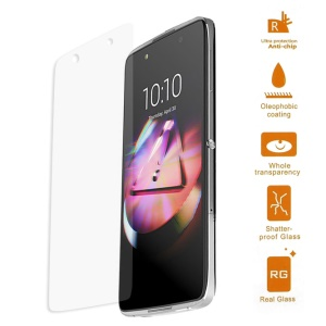 0.3mm Tempered Glass Screen Protector for Alcatel OneTouch Idol 4 5.2-inch (Arc Edge)