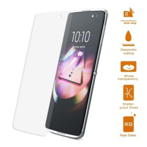 0.3mm Tempered Glass Screen Protector for Alcatel OneTouch Idol 4s 5.5-inch (Arc Edge)