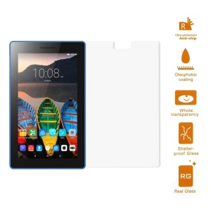 For Lenovo Tab3 7.0 730 Tempered Glass Screen Protector Guard 0.3mm (Arc Edge)
