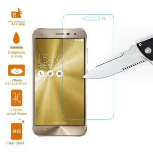 0.3mm Tempered Glass Screen Protector Film for Asus Zenfone 3 ZE520KL Arc Edge