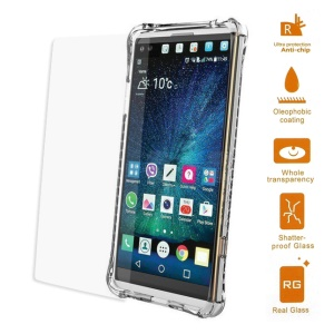 0.3mm Tempered Glass Screen Protector Film for LG V20 Arc Edge