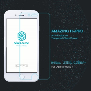 NILLKIN Amazing H+PRO for iPhone 7 4.7 Tempered Glass Screen Protector Nanometer