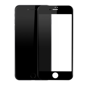 BASEUS for iPhone 8 Plus/7 Plus 3D Curved Soft PET Full Screen Tempered Glass Protector Film - Black