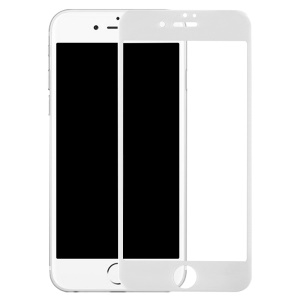 BENKS KR+ Pro 3D Curved Full Copertura Tempered Glass Screen Guard for iPhone 7 4.7 - Blanco