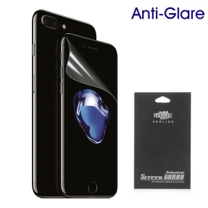 Matte Anti-glare Screen Protector Shield Film for iPhone 7 Plus (With Black Package)