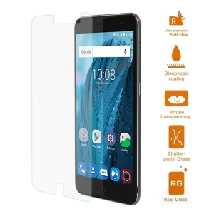0.3mm Tempered Glass Screen Protector Film Cover for ZTE Blade V7 Arc Edge