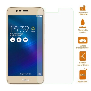 0.3mm Tempered Glass Screen Protector for Asus Zenfone 3 Max ZC520TL Arc Edge