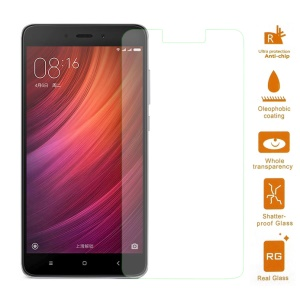 0.3mm Tempered Glass Screen Protector Film for Xiaomi Redmi Note 4 Arc Edge