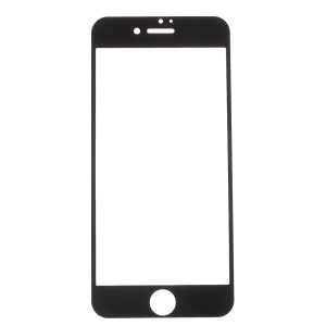 Electroplating Tempered Glass Screen Film for iPhone 7 4.7 Inch - Black