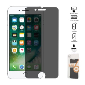 anti-Peep gehärtetes Glas Screen Guard Film 0.25mm für iPhone 8/7 4,7 Zoll