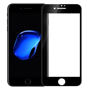 NILLKIN 3D CP+ Max for iPhone 8 Plus/7 Plus Full Size Anti-burst Tempered Glass Screen Protector - Black