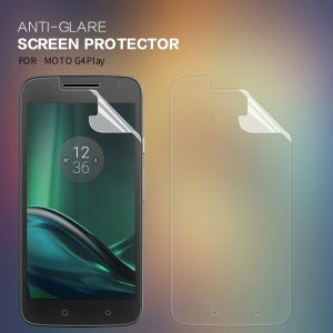 NILLKIN Matte Anti-scratch LCD Screen Protective Film for Motorola Moto G4 Play
