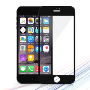 DEVIA for iPhone 7 0.26mm Tempered Glass Screen Full Cover Film 2.5D - Black