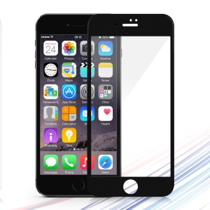 DEVIA 0.26mm Tempered Glass Screen Full Cover Film for iPhone 8 Plus/7 Plus - Black