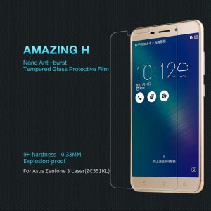 NILLKIN Amazing H Tempered Glass Screen Protector for Asus Zenfone 3 Laser ZC551KL