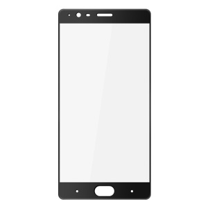 IMAK Tempered Glass Screen Protector Full Cover Film for OnePlus 3 - Black