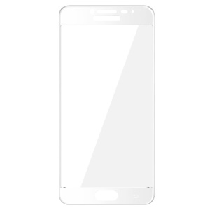 IMAK Full Covering Tempered Glass Screen Protector for Samsung Galaxy C5 - White