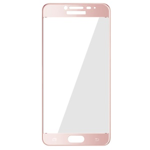 IMAK Tempered Glass Screen Film Guard Complete Covering for Samsung Galaxy C5 - Rose Gold
