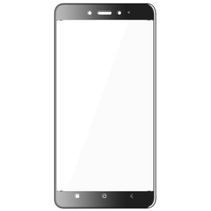 IMAK Full Covering Tempered Glass Screen Protector for Xiaomi Redmi Note 4 - Black