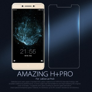 NILLKIN Amazing H+PRO for LeEco Le Pro3 Tempered Glass Screen Protector Guard 9H 0.2mm