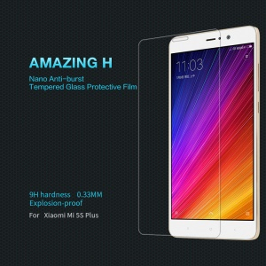 NILLKIN Amazing H for Xiaomi Mi 5s Plus Tempered Glass Screen Protector Film 9H 0.33mm