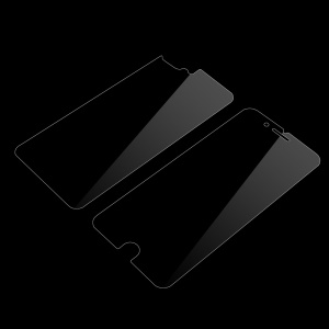 HD Clear Anti-Glare Front Screen Protector Film + HD Clear Back Protector Film for iPhone 7 Plus 5.5 - Transparent