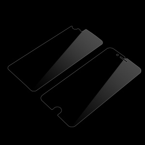 HD Clear Anti-Glare Front Screen Protector Film + HD Clear Back Protector Film for iPhone 7 4.7 - Transparent