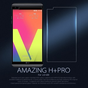 NILLKIN for LG V20 Amazing H+PRO Nanometer Anti-Explosion Tempered Glass Screen Film - Transparent