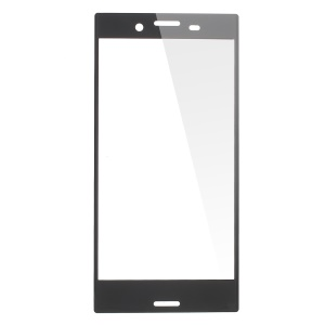 Full Covering Tempered Glass Screen Protector for Sony Xperia X Compact - Black
