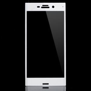 Full Covering Tempered Glass Screen Protector for Sony Xperia XZs / XZ - White